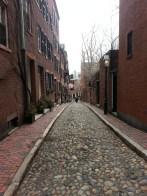 Back to Boston, Beacon Hill (Victorian district). De retour à Boston : Beacon Hill, le quartier victorien.