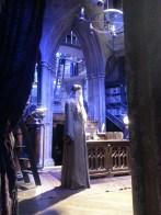 Dumbledore's office in Harry Potter Tour. Le bureau de Dumbledore.