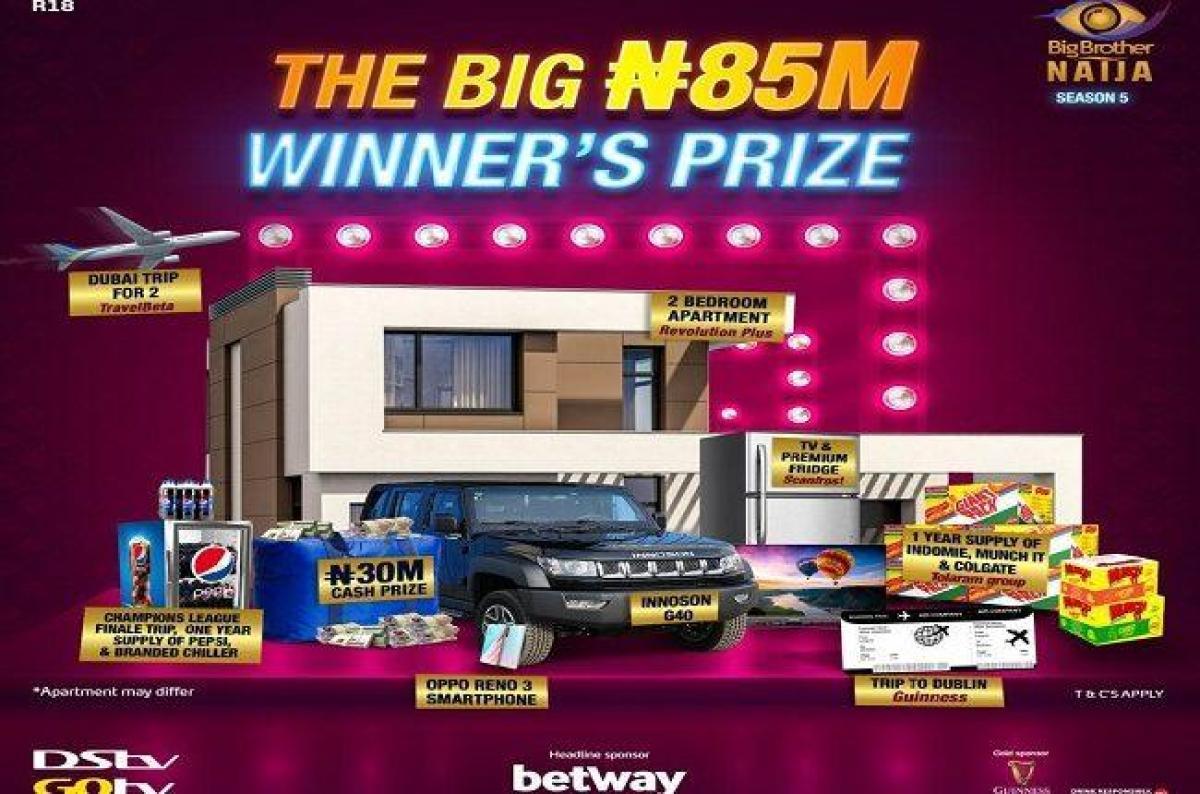 Ovacom Media. Big Brother Naija Housemate Prize