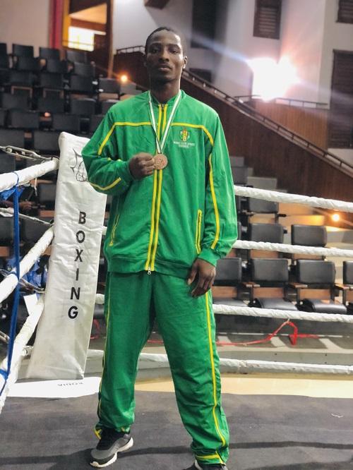 Meet Benson Adeyinka, Nigeria's Fast Rising Middleweight Boxer