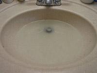 סתימה בכיור