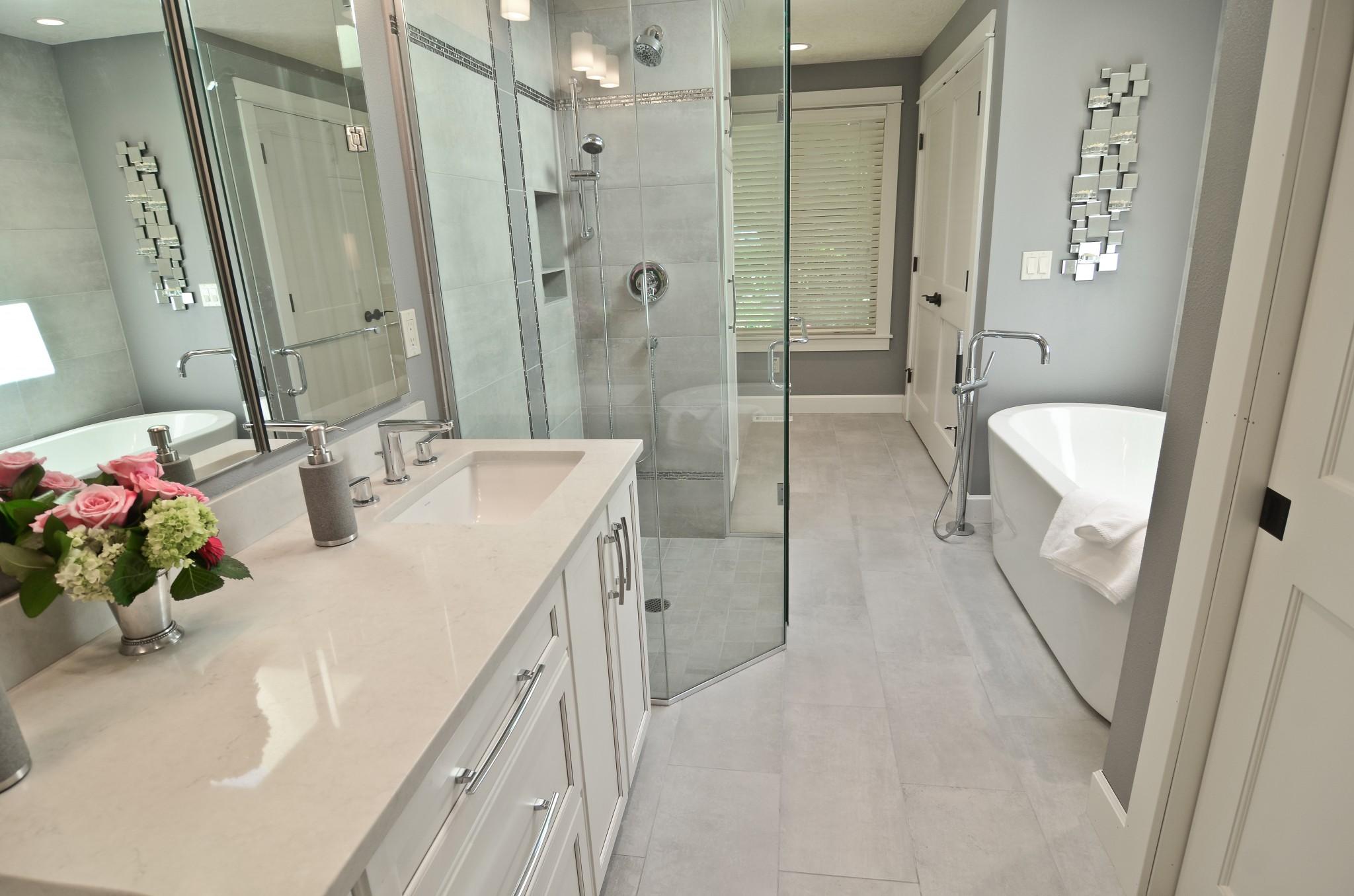 bathroom vanities Ovation Design-Build bathroom design