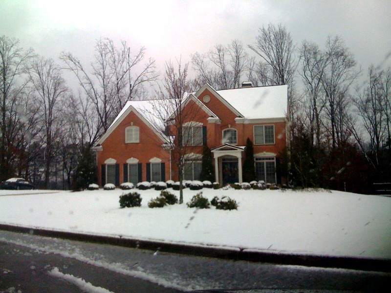 Snow on Stonebriar, by India Brantley, 2009