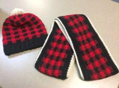 Handmade Hat & Scarf Set