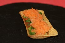 Layer 3 - Grated carrots
