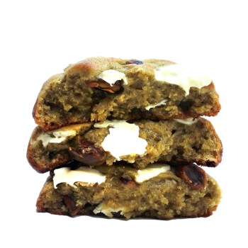 Pistachio White Chocolate Cookie