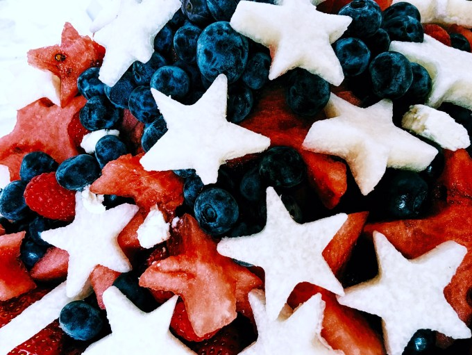 fruit salad, fruit, stars, healthy, snacks, salad, appetizer