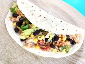 chicken, tacos, Mexican