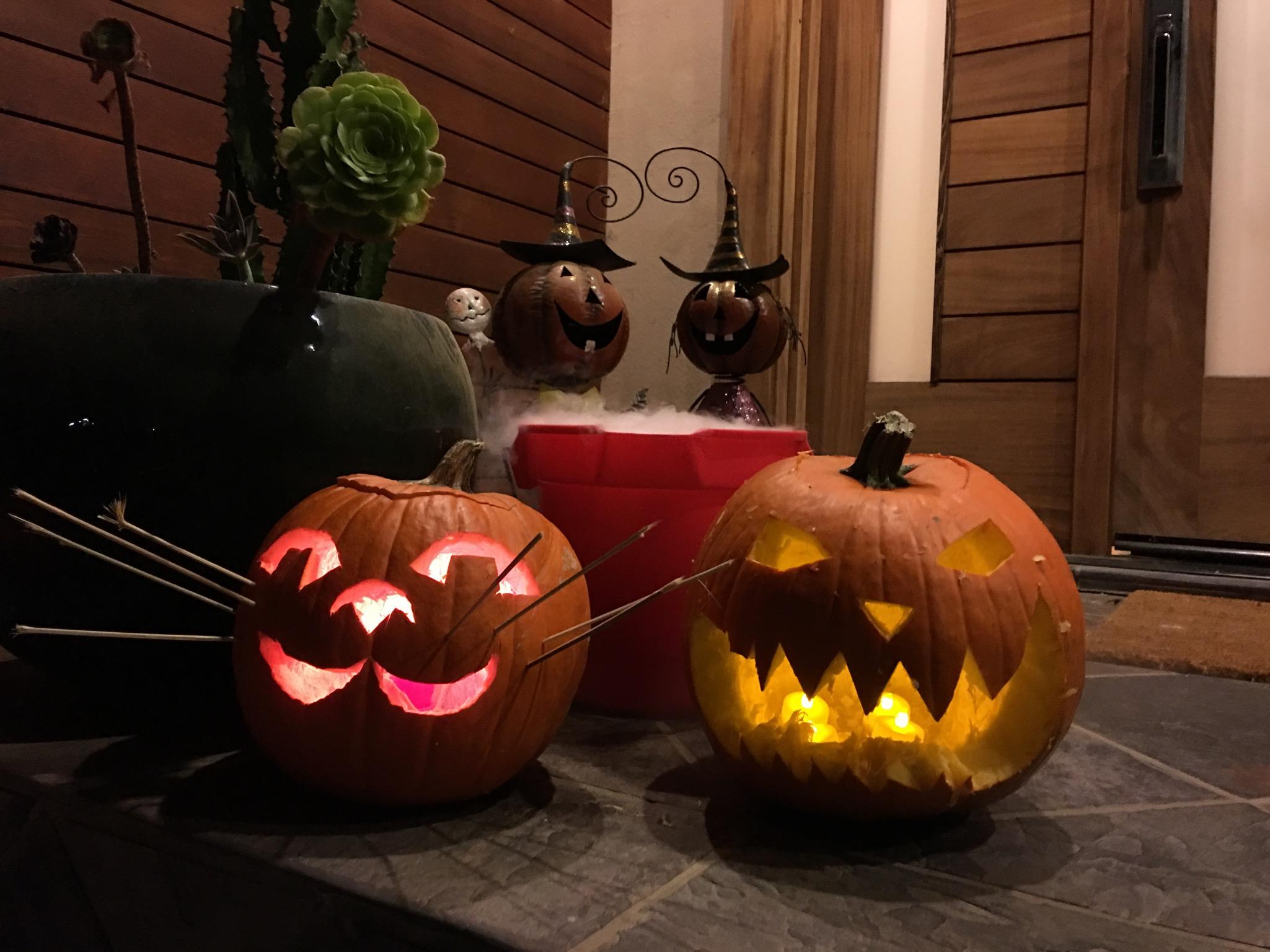 pumpkins, jack-o-lanterns