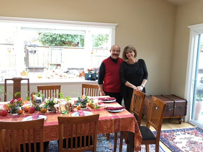 thanksgiving, family, table