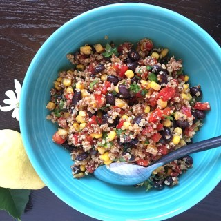 New Southwest Quinoa Salad with a Kick!