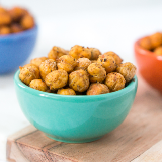 Healthy Snack Attack Idea Roasted Chickpeas!