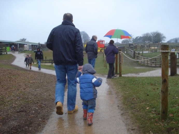 Hi Ho, Hi Ho It's off to the Farm we go - Cotswold Farm Park