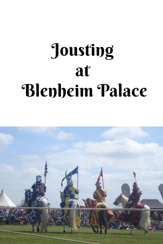 Jousting at Blenheim Palace