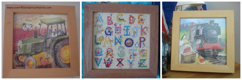 www.over40andamumtoone.com cards in frames