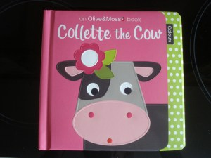 www.over40andamumtoone.com Collette the Cow