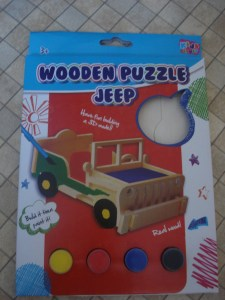 www.over40andamumtoone.com #my99psummer wooden puzzle jeep