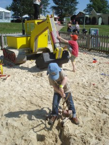 Sand pit, Hatton Country Park days out,