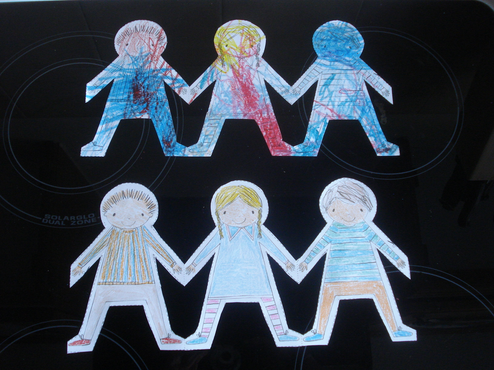 Our paper dolls