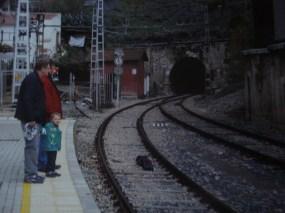 When's the train due El Chorro