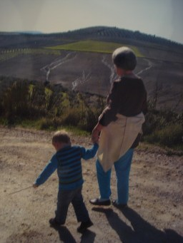 A walk in the campo with Granny