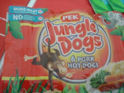 Jungle Dogs and the Monkey