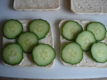 Add cucumbers