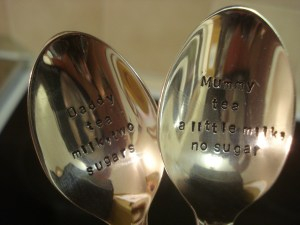 Cuppa Teaspoon Set, The Cutlery Commission