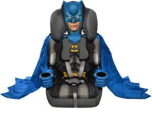 Kids Embrace, Batman Car seat, Mighty Monkey and the carseat