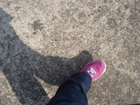 Walking around an airshow