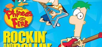 Disney Phineas and Ferb Rockin' and Rollin'