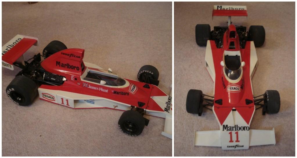 James Hunt Formula One car