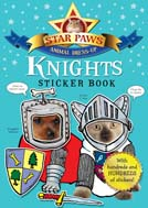Star Paws, Knights Sticker book, Star Paws Sticker Books
