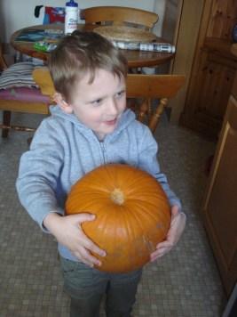 Grab a pumpkin
