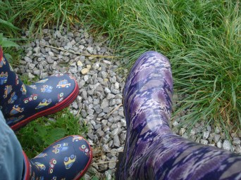 Wellies at the ready