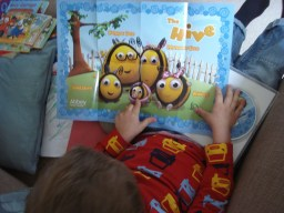and Bee family poster