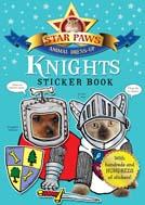 Star Paws Knights Sticker Book