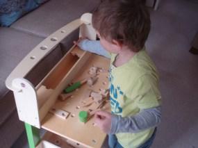 Lumberjack Workbench, Plum Products