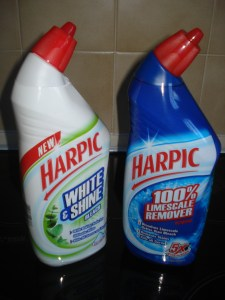 Harpic are helping me to beat Limescale