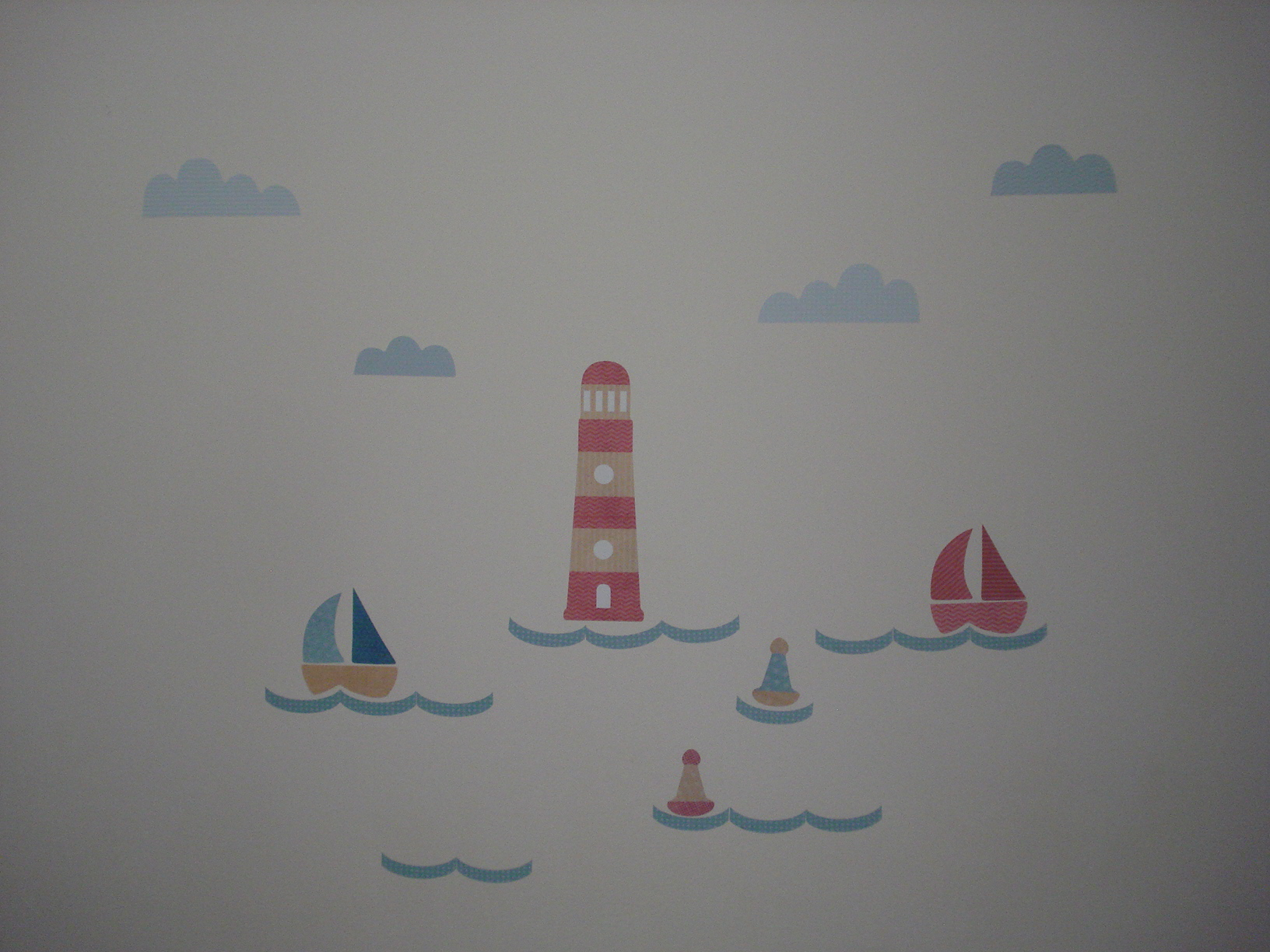 Mini Lighthouse wall stickers from tinyme