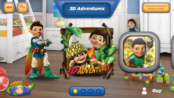 Magical Tree Fu Tom 3D Adventures