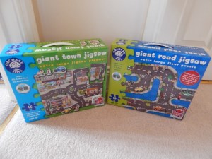 Giant Road Jigsaw and Giant Town Jigsaw