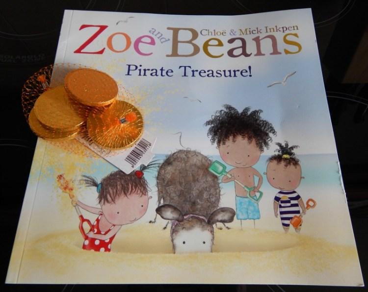 Zoe and Beans Pirate Treasure!