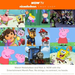 NOW TV Nickelodeon Swap Shop