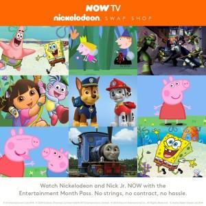 NOW TV Nickelodeon Swap Shop