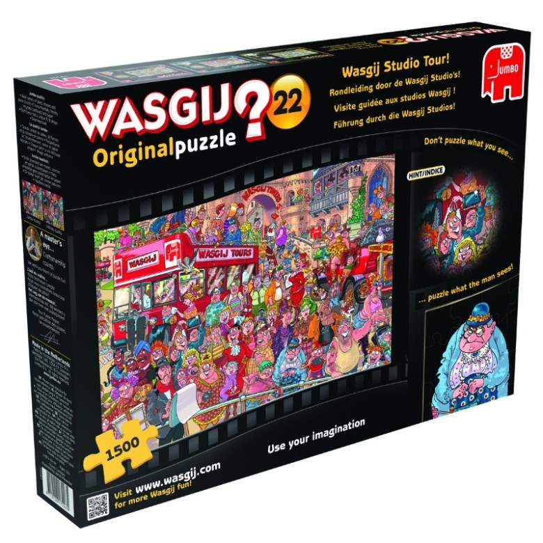 WASGIJ Studio Tour