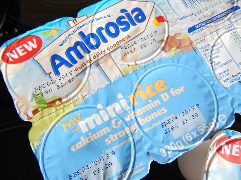 Ambrosia Mini Rice Pots