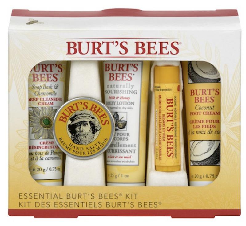 Burt's Bees Essential Body Kit