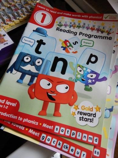 Alphablocks Reading Programme