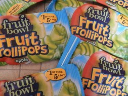 Fruit Bowl Fruit Frollipops